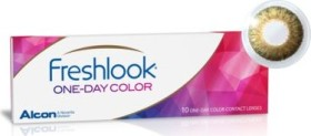 Alcon FreshLook One-Day Color Farblinse pure hazel, -0.25 Dioptrien, 10er-Pack