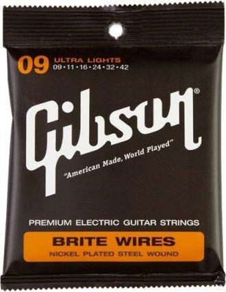 Gibson Brite Wires Ultra Light (SEG-700UL)