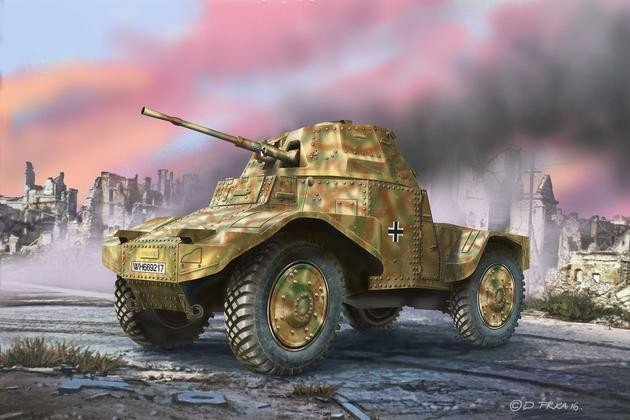 Revell Armoured Scout Vehicle P204(f) (03259)