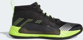 adidas Dame 5 Star Wars Lightsaber Green core black/signal green/semi solar slime (Herren) (EH2457)