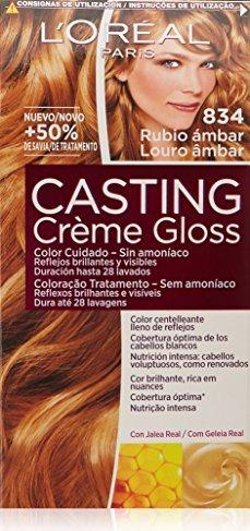 L Oréal Casting Creme Gloss Haarfarbe 834 Kupfergoldblond Ab 4 99