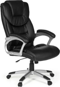 Amstyle Madrid office chair, black (SPM1.225)