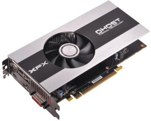 XFX Radeon HD 7770 GHz Edition, Black Edition Single Fan, 1GB GDDR5, DVI, HDMI, mini DisplayPort (FX-777A-ZNBC)