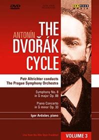 Antonin Dvorak - Symphonie Nr. 8, Klavierkonzert (DVD)