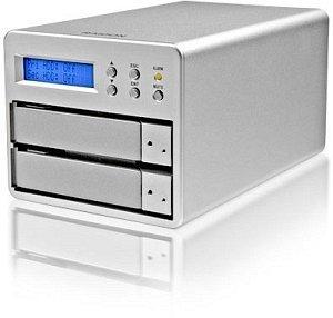 """RaidSonic Stardom SR2-SB2, 3.5"""", USB-A 2.0/eSATA (12142)"""