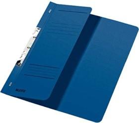 Leitz Schlitzhefter A4, 1/2 Vorderdeckel, blau (37440035)