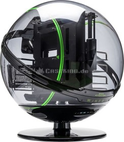 In Win Winbot black/green, acrylic window (IW-WINBOT-GRE)