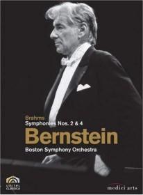 Johannes Brahms - Sinfonie Nr. 2 & 4 (DVD)
