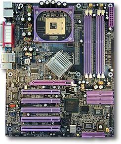 Soltek SL-865Pro2-FGR, i865PE (dual PC-3200 DDR)