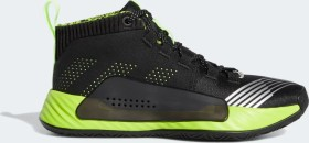 adidas Dame 5 Star Wars Lightsaber Green core black/signal green/semi solar slime (Junior) (EH2470)