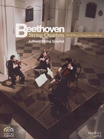 Ludwig van Beethoven - Streichquartette 18, 59 & 131 (DVD)