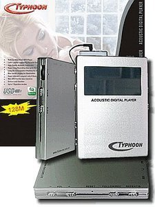 Anubis Typhoon Acoustic cyfrowy Player 128MB (83071)