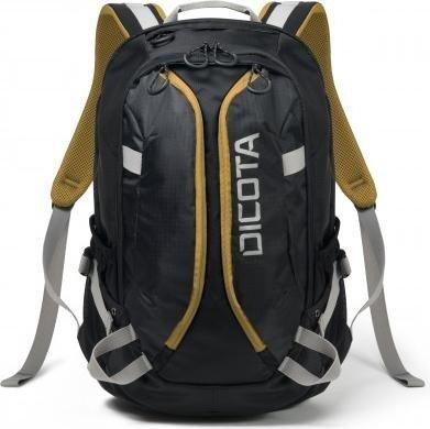 2cc614f796ccd Dicota Backpack Active Rucksack schwarz gelb (D31048)