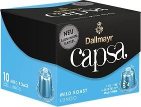 Dallmayr capsa Lungo mild Roast coffee capsules, 10-pack