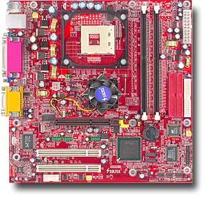 Soltek SL-86MIP-L, i865G (dual PC-3200 DDR)