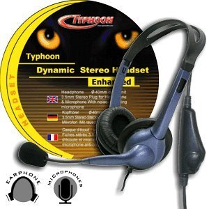 Anubis Typhoon Acoustic Voice Control headset (50230)