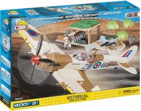 Cobi Historical Collection WW2 Supermarine Spitfire Mk.IX Desert Airstrip (5545)