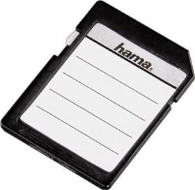 Hama Speicherkartenetiketten Sonderformat 30mm, weiß, 18 Stück (95916)
