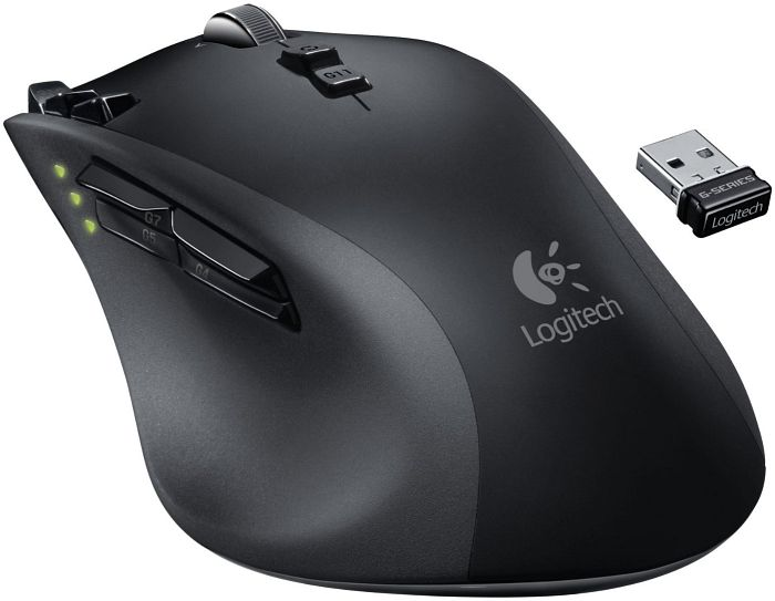 Logitech G700 Gaming Mouse, USB (910-001761/910-001759)
