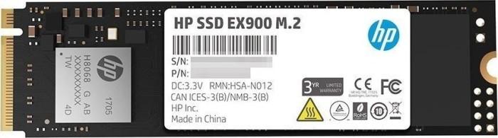 HP SSD EX900 M.2 500GB, M.2 (2YY44AA#ABB)