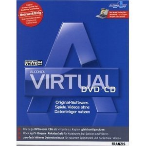 Franzis: Alcohol Virtual DVD + CD (German) (PC)