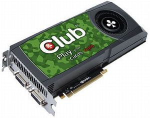 Club 3D GeForce GTX 570, 1.25GB GDDR5, 2x DVI, mini HDMI (CGNX-X5780)