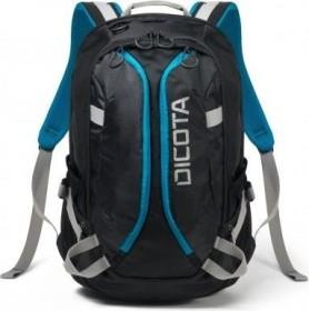 Dicota Backpack Active Rucksack schwarz/blau (D31047)