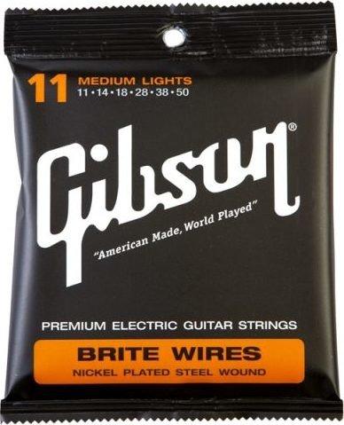 Gibson Brite Wires Medium Light (SEG-700ML)