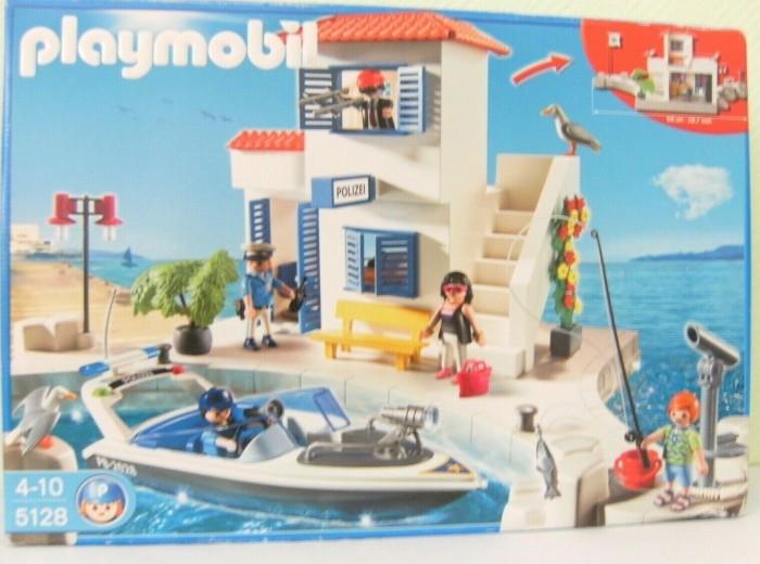 playmobil Summer Fun - Hafenpolizei mit Schnellboot (5128) -- via Amazon Partnerprogramm