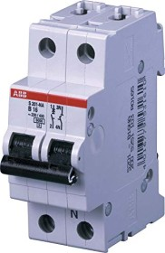 ABB Sicherungsautomat S200, 2P, K, 16A (S201-K16NA)