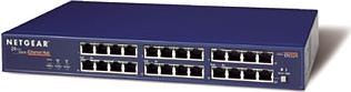 Netgear EN524 Hub, 24x RJ-45 10Mbit, AUI, Uplink