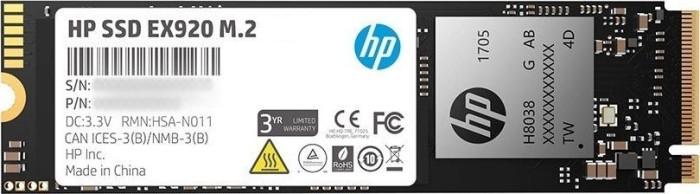 HP SSD EX920 M.2 256GB, M.2 (2YY45AA#ABB)