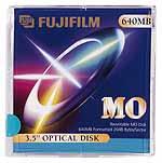 "Fujifilm MO-Disk 3.5"" RW, 640MB, 5-pack"
