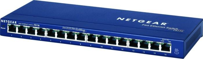 Netgear ProSAFE FS100 desktop switch, 16x RJ-45 (FS116)