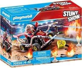 playmobil Stuntshow - Feuerwehrkart (70554)