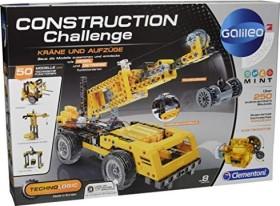 Clementoni Galileo Construction Challenge - Kräne und Aufzüge (59079)