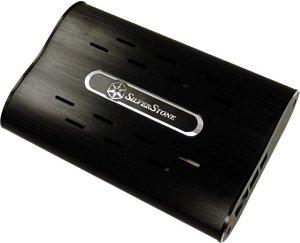 """SilverStone MS01B schwarz, 3.5"""", USB-B 2.0"""