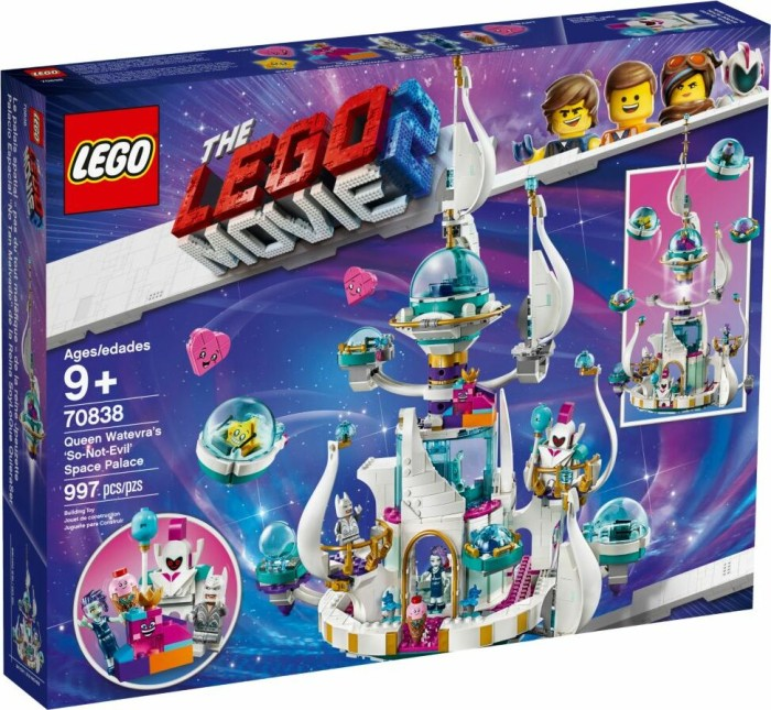 LEGO The Movie 2 - Queen Watevra's So-Not-Evil Space Palace (70838)