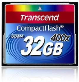 Transcend R90/W60 CompactFlash Card [CF] 400x 32GB (TS32GCF400)