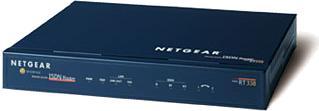 Netgear RT338 ISDN, 1x RJ-45 10/100