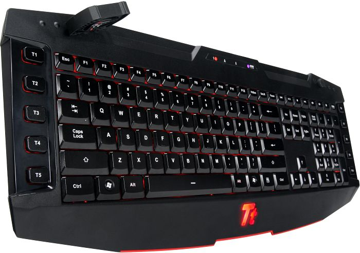 Tt eSPORTS Challenger Ultimate Gaming Keyboard, USB, DE (KB-CHU003GR)