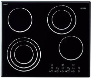 Gorenje ECT65C-HL ceramic hob self-sufficient