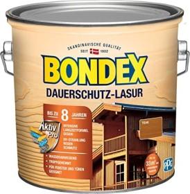 Bondex Dauerschutz-Lasur Holzschutzmittel teak, 2.5l (329918)
