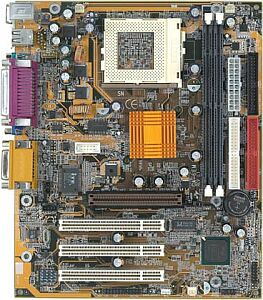 Gigabyte GA-6IEM, i815E/B, µATX