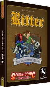 Spiele-Comic Abenteuer: Ritter - Die verlorene Stadt