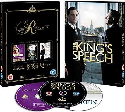 The King's Speech/The Queen/The Young Victoria (UK) -- via Amazon Partnerprogramm