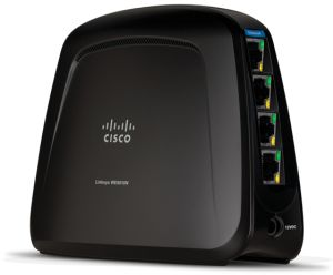 Linksys WES610N Bridge, 300Mbps (MIMO) Dual Band