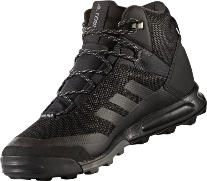 4ba76bce0 adidas Terrex Tivid mid Climaproof core black grey (men) (S80935) starting  from £ 68.95 (2019)