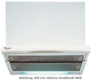 Whirlpool AKR 633/2 GY Flachschirm-Dunstabzugshaube