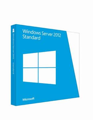 Microsoft Windows Server 2012 64Bit Standard OEM/DSP/SB, 2 CPUs (englisch) (PC) (P73-05328)